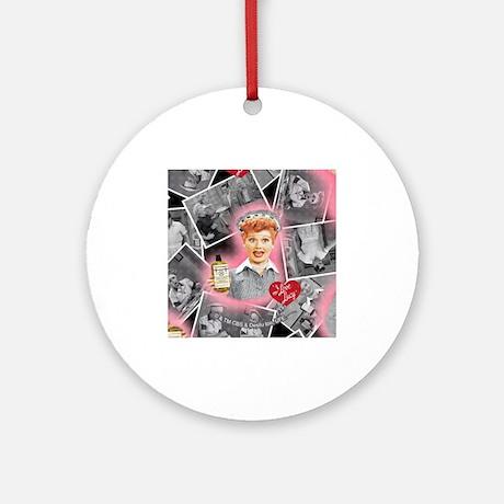 Vitameatavegamin Lucy Ornament