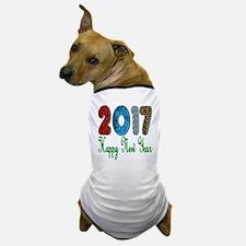 2017 Happy New Year Dog T-Shirt