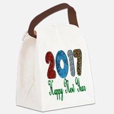 2017 Happy New Year Canvas Lunch Bag