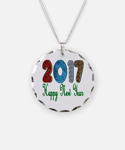 2017 Happy New Year Necklace