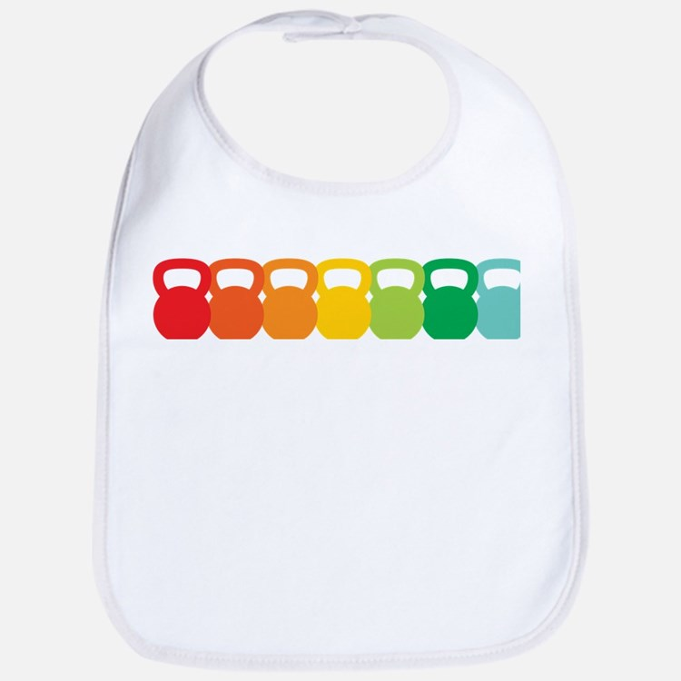 rainbow_bells Baby Bib