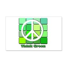Think Green Wall Sticker