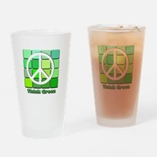Think Green Drinking Glass