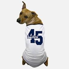 President Trump 45 - Donald Trump Dog T-Shirt
