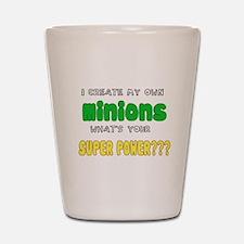 Minion Super Power Shot Glass