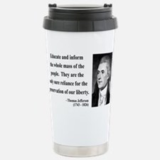 Unique Thomas jefferson Travel Mug