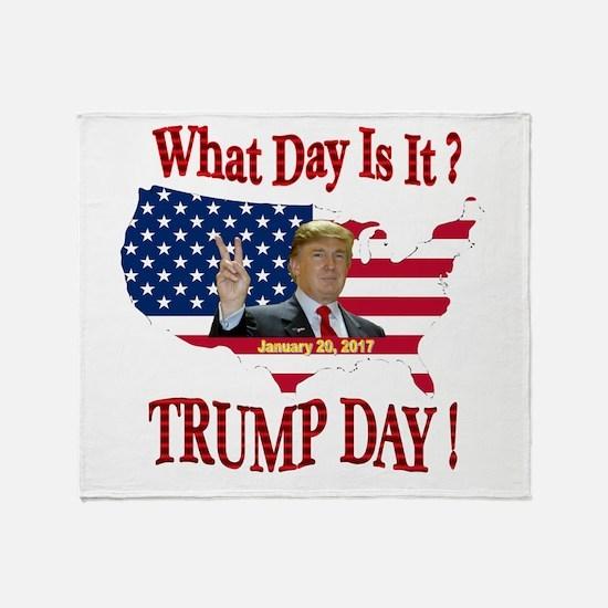 Cool Inauguration Throw Blanket