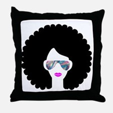 Unique African american Throw Pillow