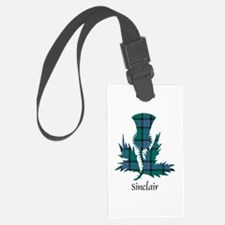 Thistle-Sinclair hunting Luggage Tag
