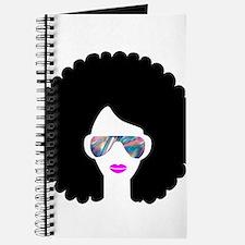 hologram afro girl Journal