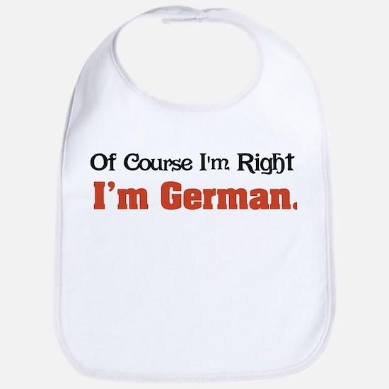 Im German Baby Bib