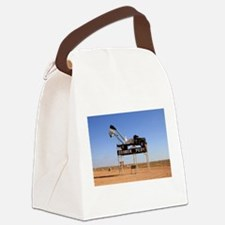 Coober Pedy town sign, Australia Canvas Lunch Bag