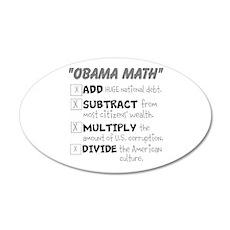 Obama Math Wall Decal