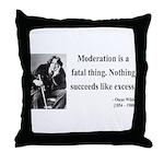 Oscar Wilde 19 Throw Pillow