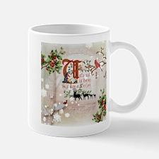 Vintage Nativity Mugs