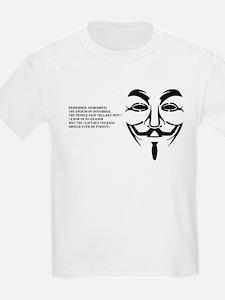 remember black big mask T-Shirt
