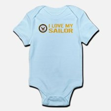 U.S. Navy: I Love My Sailor Body Suit