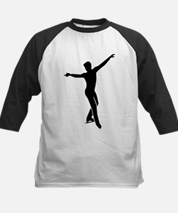 Figure skating man Kids Baseball Jersey