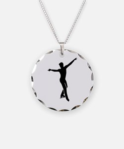 Figure skating man Necklace