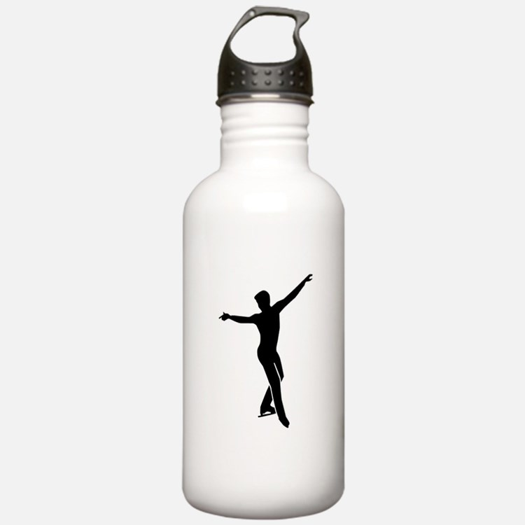 Figure skating man Water Bottle