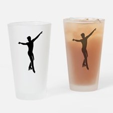 Figure skating man Drinking Glass