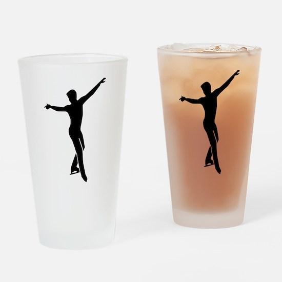 Figure skating man Drinking Glass