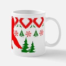 Christmas Ugly Bigfoot Mug