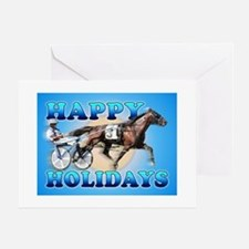 Harness Racer Holiday Cards (Pk of 10) Greeting Ca