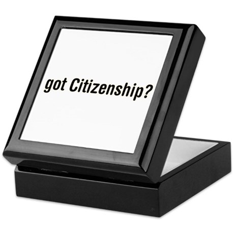 got Citizenship Keepsake Box
