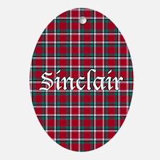 Tartan - Sinclair Oval Ornament