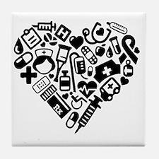 Unique Nursing student Tile Coaster