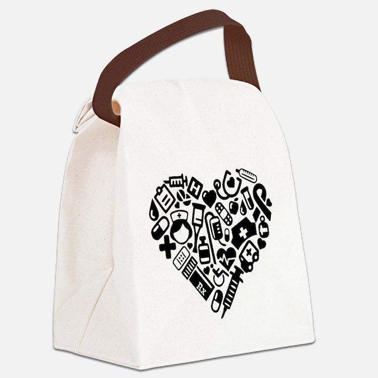 Cute Nursing Canvas Lunch Bag