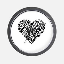 Cute Cardiac nursing Wall Clock