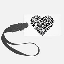 Nurse Heart Luggage Tag
