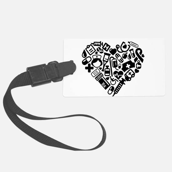 Nurse Heart Luggage Tag