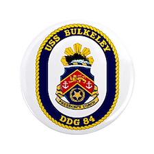 """USS Bulkeley DDG 84 3.5"""" Button"""