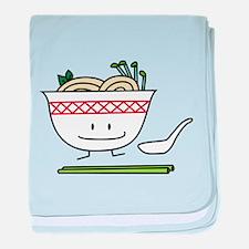 Pho Bowl baby blanket