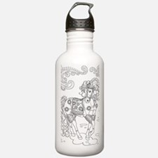 Prancing Paisley Horse Water Bottle