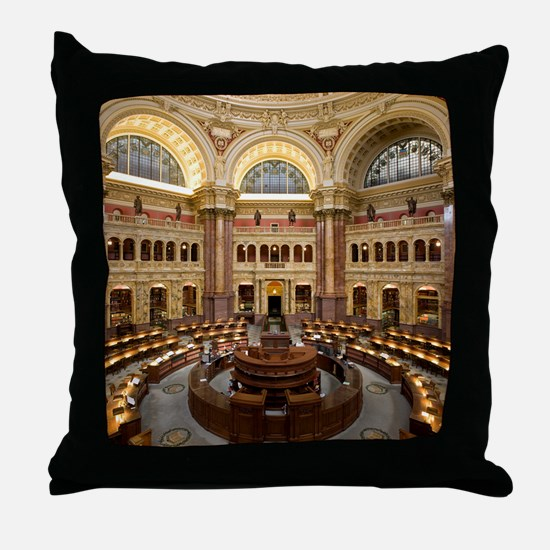Cute Congress Throw Pillow