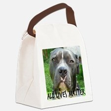 Cute Animal cruelty Canvas Lunch Bag