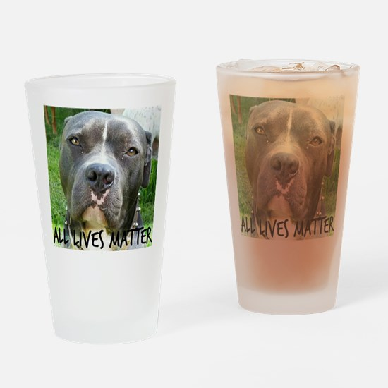 Cute Cruelty free Drinking Glass