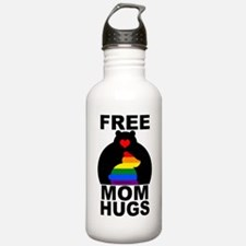 Free Mom Hugs (long) Water Bottle
