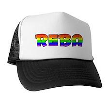 Reba Gay Pride (#004) Trucker Hat
