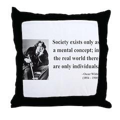 Oscar Wilde 21 Throw Pillow