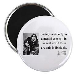 "Oscar Wilde 21 2.25"" Magnet (100 pack)"