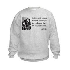 Oscar Wilde 21 Sweatshirt