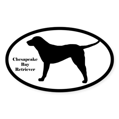 Chesapeake Bay Retriever Silhouette Sticker