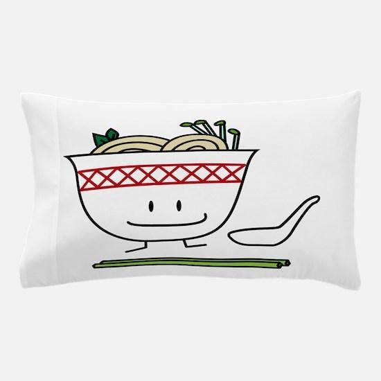 Pho Bowl Pillow Case