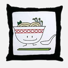 Pho Bowl Throw Pillow