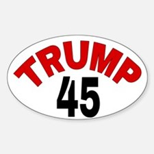 TRUMP 45 Decal